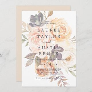 Rustic Earth Florals | Faded Flowers Wedding