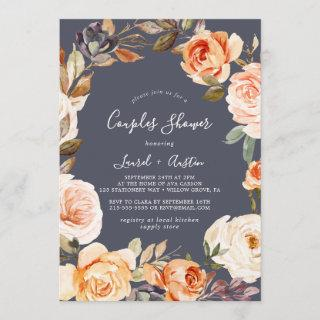 Rustic Earth Florals   Purple Couples Shower