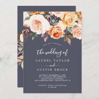 Rustic Earth Florals | Purple The Wedding Of