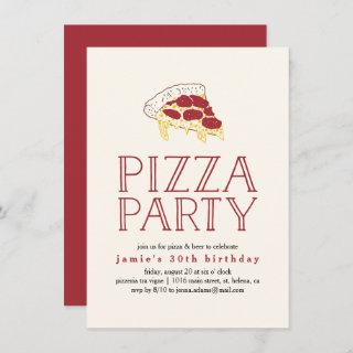 Rustic Pizza Party