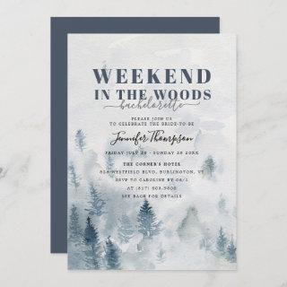 Rustic Woods Cabin Bachelorette Weekend Itinerary