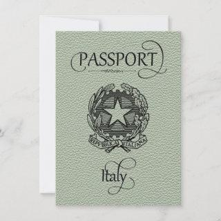 Sage Italy Passport Save the Date