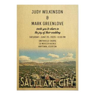 Salt Lake City Wedding Invitations Utah