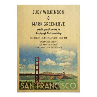 San Francisco Wedding Invitation Golden Gate
