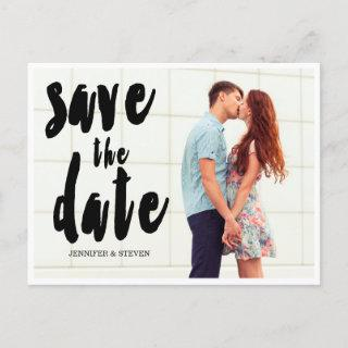 SAVE OUR DATE   BOLD SAVE THE DATE ANNOUNCEMENT