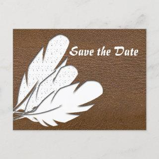 Save The Date Announcement Postcard