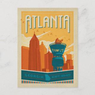 Save the Date | Atlanta, GA - EST. 1845 Announcement Postcard