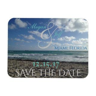 Save the Date Beach Magnet