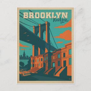 Save the Date | Brooklyn, NY Announcement Postcard