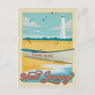 Save the Date | Cape May, NJ Announcement Postcard