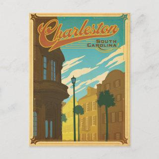 Save the Date | Charleston, SC Announcement Postcard