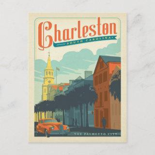 Save the Date | Charleston, SC The Palmetto City Announcement Postcard
