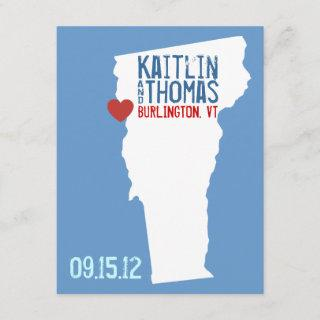 Save the Date - Customizable - Vermont