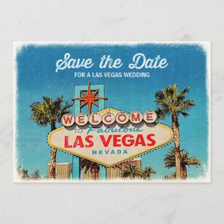 Save the Date for a Fabulous Las Vegas Wedding
