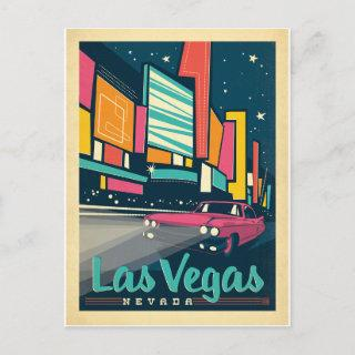 Save the Date | Las Vegas, NV Announcement Postcard