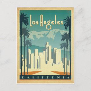 Save the Date | Los Angeles, CA 2 Announcement Postcard