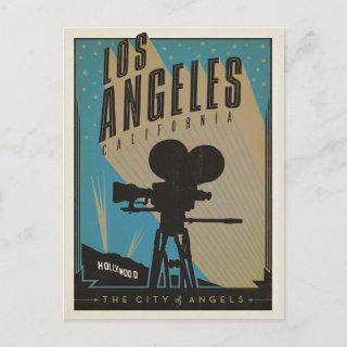Save the Date | Los Angeles, CA Announcement Postcard