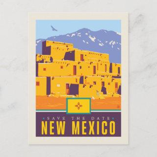 Save the Date | New Mexico Invitations Postcard