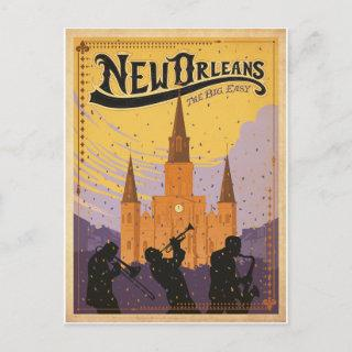 Save the Date | New Orleans, LA Announcement Postcard