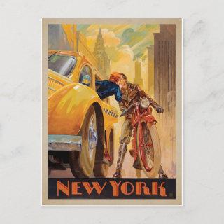 Save the Date | New York Minute Announcement Postcard