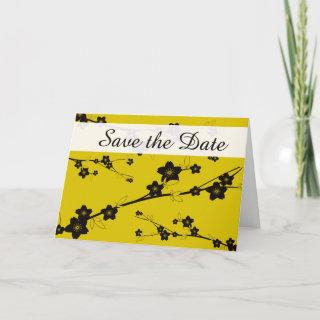 Save the Date - Rich Floral Announcement