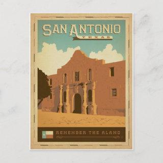 Save the Date | San Antonio, TX Announcement Postcard