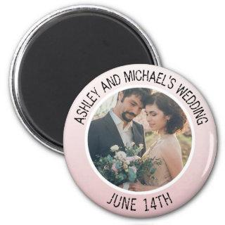 Save the Date Wedding Personalized Photo Magnet
