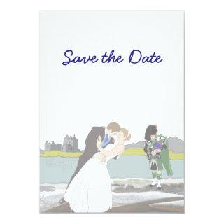 Scottish, Celtic Wedding Theme Save the Date Invitations