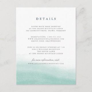 Seaglass Tides Guest Information Card