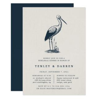 Shorebird | Rehearsal Dinner Invitations