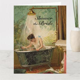 Shower the Bride Big Greeting Card
