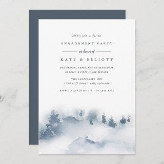 Snowbound | Winter Engagement Party Invitations