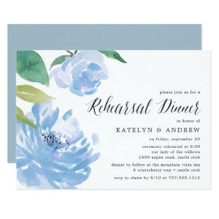 Something Blue | Rehearsal Dinner Invitations
