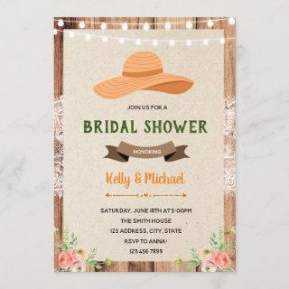 Southern charm shower party invitation