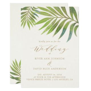 Splendid Summer Wedding Invitations