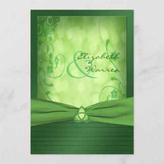 St. Patrick's Day Celtic Love Knot Invitations