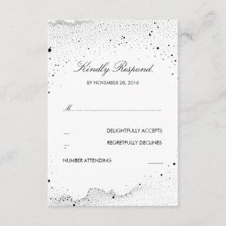 Starry Night Wedding RSVP