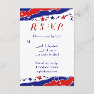 Stars and Stripes RSVP