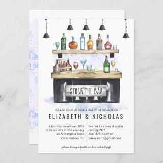 Stock the Bar | Couples Wedding Shower Invitations