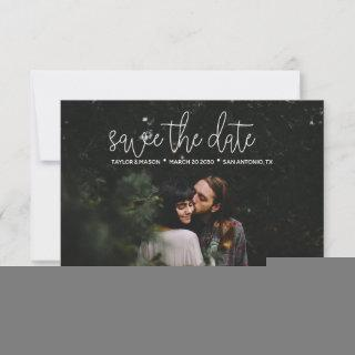 Stylish Save the Date