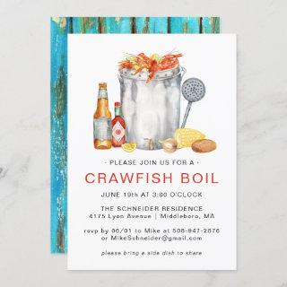Summer Crawfish Boil | Low Country Boil Cookout