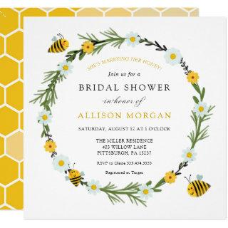 Sweet As Can Bee Bridal  Shower Invitation