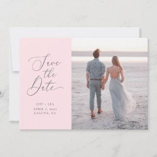 Swept Letters Invitations