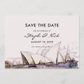 Sydney Opera House | Save the Date
