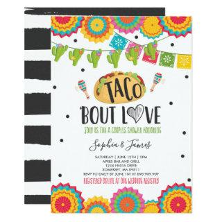 Taco 'Bout Love Couples Engagement Fiesta Party Invitations