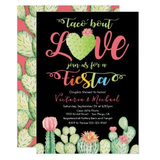 Taco bout Love Couples Shower Invitations