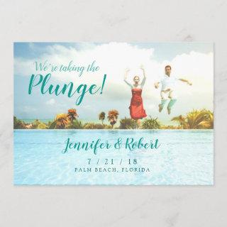 Taking the Plunge Summer Fun Save the Date