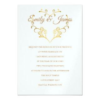 Temple Wedding Invitations