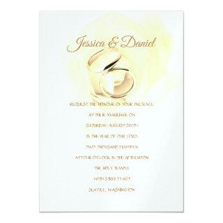 Temple Wedding Invitation