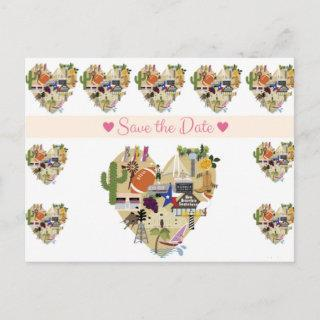 Texas Save the Date Postcard